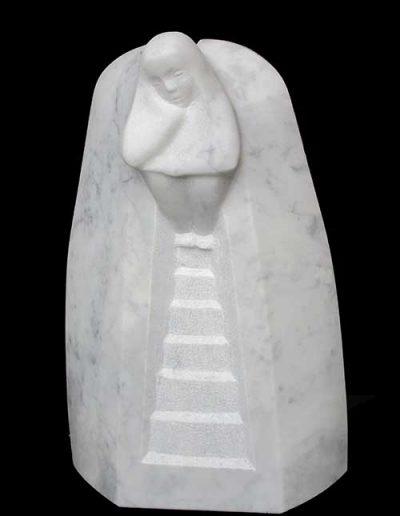 einsame Wege Carrara Marmor-30x19x7cm