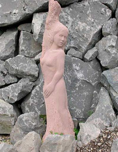 Daphne Halbrelief 132x28x17cm